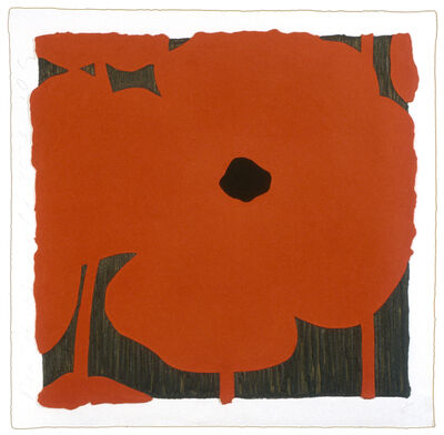 Donald Sultan, 'Red Flowers', 2003