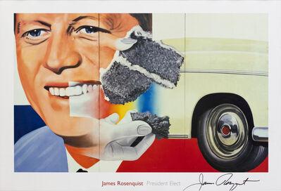 James Rosenquist, 'JFK - President Elect', 1960