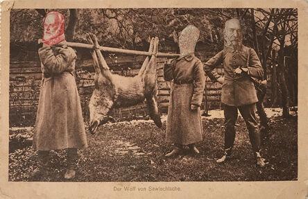 Erwin Blumenfeld, 'Der Wolf von Sawischtsche (The Wolf of Savishsche)', 1918-1919