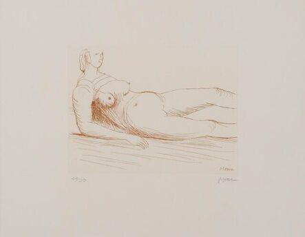 Henry Moore, 'Reclining Figure', 1979