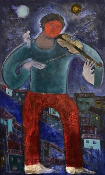 Orlando Agudelo Botero, 'LA ANUNCIACIÓN', 2017