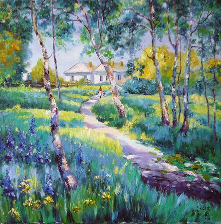 Zhang Shengzan 张胜赞, 'Spring in Estonia', 2009