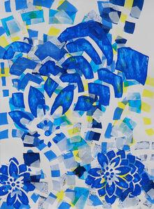 Lisa Petker Mintz, 'Blue Flowers No. 2', 2018