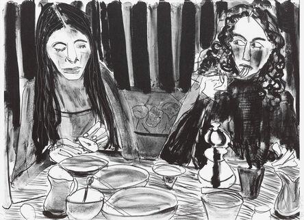Chantal Joffe, 'Alba and Esme at Breakfast', 2018
