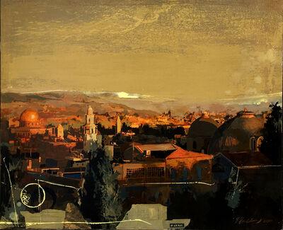 Yaakov feldman, 'Jerusalem Old City View', 1969-now