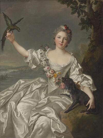 After Jean-Marc Nattier, 'Portrait of François-Renée de Carbonnel de Canisy, Marquise d'Antin, three-quarter-length'