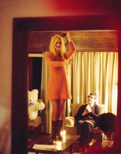 Douglas Kirkland, 'Bridgette Bardot on Table'