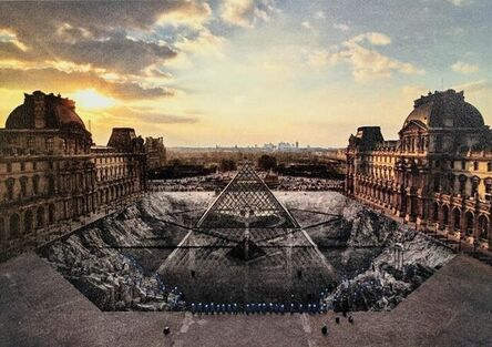 JR, 'JR au Louvre, 29 Mars 2019, Paris, France (18h08)', 2021