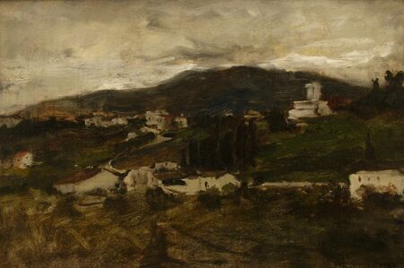 John Henry Twachtman, 'San Miniato', 1880