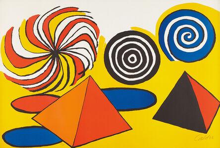 Alexander Calder, 'Untitled (Pinwheels and Pyramids)', ca. 1970