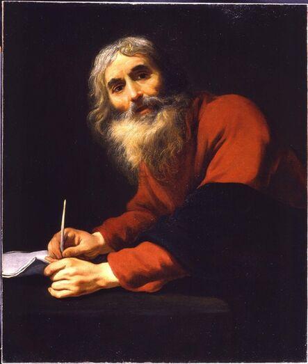Claude Vignon, 'St Luke'