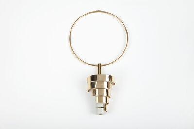 Edival Ramosa, 'Kinetic pendant necklace', 1967