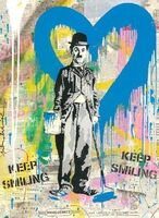 Mr. Brainwash, 'Chaplin', 2020
