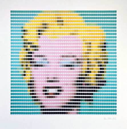Nick Smith, 'Warhol - Turquoise Marilyn', 2018