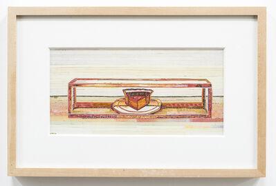 C.K. Wilde, 'Last Piece of Pie (after Thiebaud)', 2013
