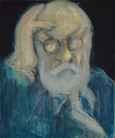 Wu Chen 武晨, 'Portrait of Old Codger Mr. M 怪老头M先生的肖像', 2015