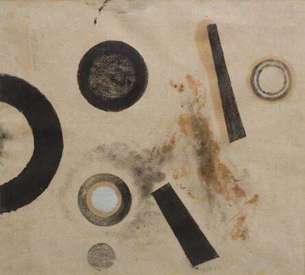 Paul Feiler, 'Orbis monotype I', 1967