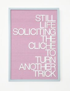 Maynard Monrow, 'Untitled / Soliciting The Cliché', 2016