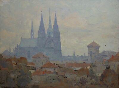 Aleksandr Timofeevich Danilichev, 'Temple', 1959