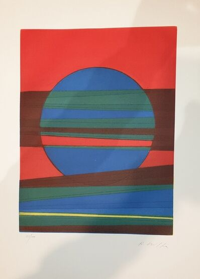 Roberto Crippa, 'Plate III from Suns/Landscapes', 1970's