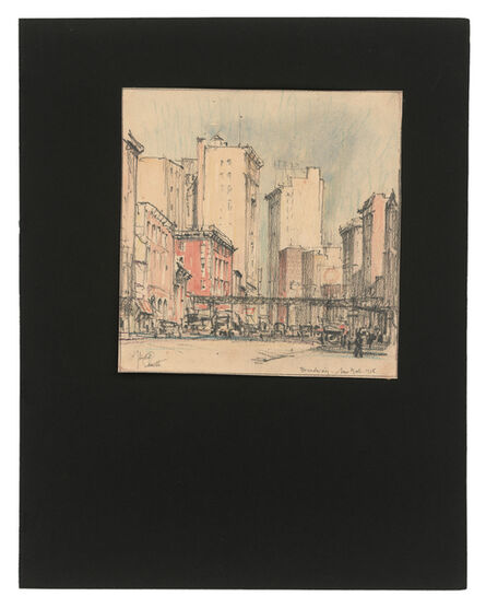 Jules Andre Smith, 'Broadway', 1915