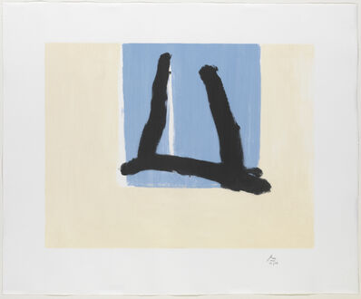 Robert Motherwell, 'Summer Sign', 1990