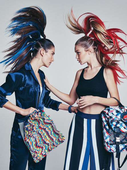 Patrick Demarchelier, 'Gigi and Lily, New York, Vogue', 2016
