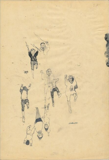 Cat Roissetter, 'Somnambulists' Prep Sketch VIII', 2008