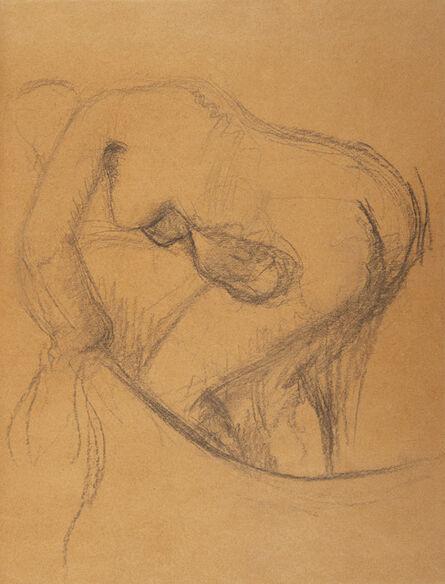 Edgar Degas, 'Baigneuse au tub', 1834-1917