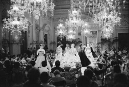 'Fashion show in Sala Bianca', 1986