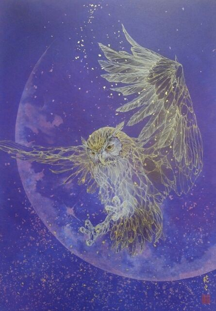 Noriyuki Kobayashi, 'Messenger in the Moon', 2018