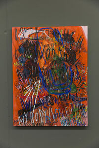 Despina Stokou, 'RGB affirmations (orange)', 2018