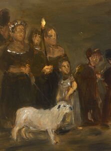 Ansel Krut, 'The Paschal Lamb', 1990