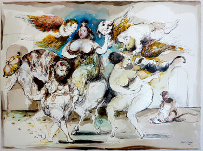 "Emil Kazaz, '""Madonna"" / ""Meryem Ana""', 1997"