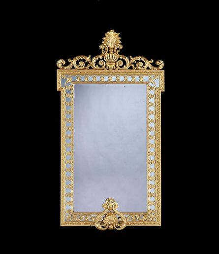 John Linnell, 'A GEORGE III GILTWOOD PIER MIRROR DESIGNED BY ROBERT ADAM AND ATTRIBUTED TO JOHN LINNELL', ca. 1765
