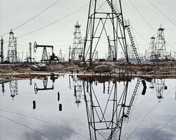 Edward Burtynsky, 'SOCAR Oil Fields #3, Baku, Azerbaijan'