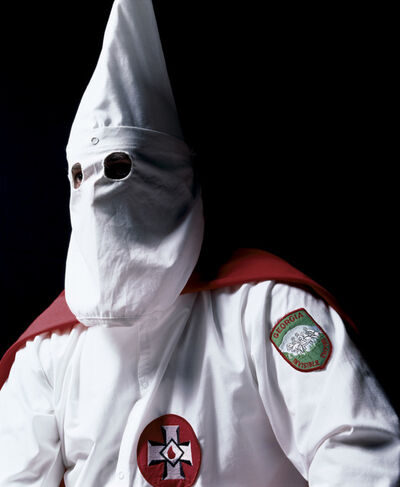 Andres Serrano, 'Klansman, Great Titan of the Invisible Empire III (The Klan)', 1990