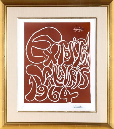 Pablo Picasso, 'Exposition Vallauris (Bloch 1301)', 1964