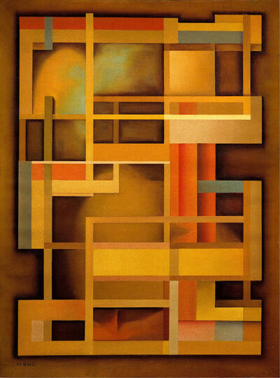 Manlio Rho, 'Composizione 351', 1955