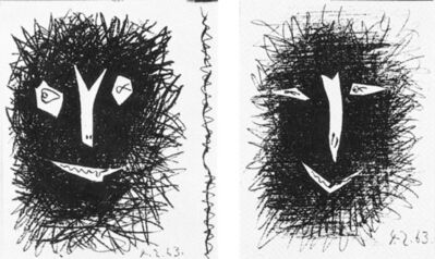 Pablo Picasso, 'Picasso Lithographs', 1963