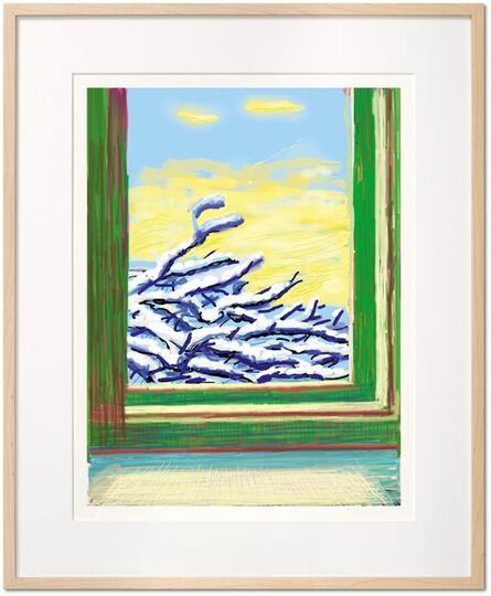 David Hockney, 'iPad drawing 'No. 610', 23rd December 2010', 2020