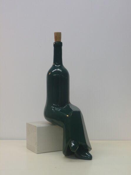 Markus Hofer, 'Bottle - black version (red wine)', 2018
