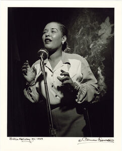 Herman Leonard, 'Billie Holiday, New York, 1949', 1949