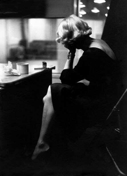 Eve Arnold, 'Marlene DIETRICH at the recording studios of COLUMBIA RECORDS. New York City. USA. ', 1952