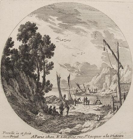 Gabriel Perelle, 'Figures in a Landscape', 1600s
