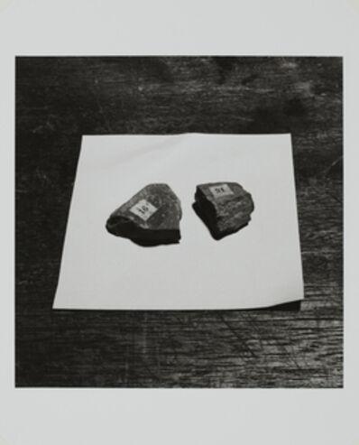 Kiyoji Ōtsuji, 'Two Mineral Samples on Table', 1975/2008
