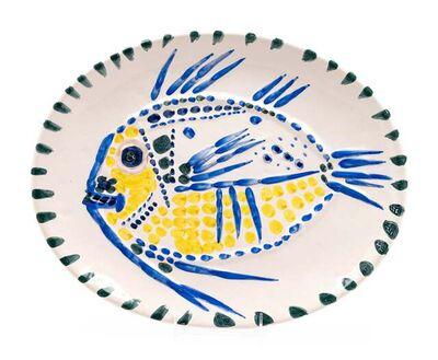 Pablo Picasso, 'Poisson fond blanc (A.R. 168)', 1952