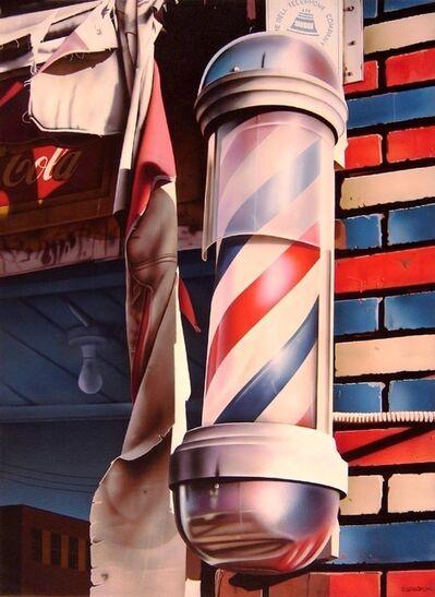 Rudy Sparkuhl, 'Barber Pole'