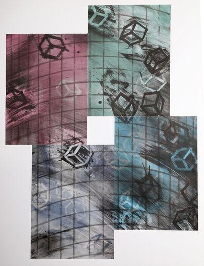 Mel Bochner, 'Four Colored Quartets', 1990