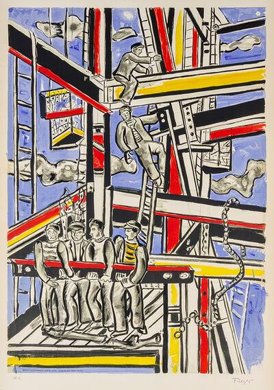Fernand Léger, 'Les Constructeurs', 1975